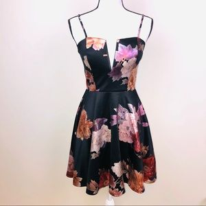Charlotte Russe Fit n Flare dress